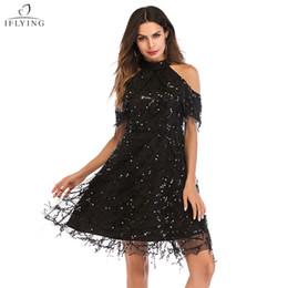 Líneas Vestido Online Que Las Sequin Adelgaza Del Club mYfyvIb76g