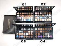 Wholesale 28 Color Eyeshadow Palette Wholesale - Powder Eyeshadow 28 Color Eye Shadow Palette Fashion Make Up Eyeshadow Kit 84g by DHL Shipping