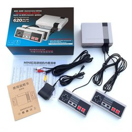 Wholesale Nintendo Games Consoles - 2017 TV Handheld Game Console Mini Video Game Player Console For Nintendo NES Windows PC Mac with 620 Built-in Games With Box B-GB