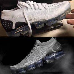 Wholesale r medium - 2018 Vapormax 2.0 New Men Women fashion Trainers white pink blue black vapormaxes cs Bsreathe Knit R Sneakers Sports Running Shoes size36-45