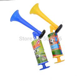 шумовой шум Скидка Бесплатная доставка 10pcs / lot Маленький портативный портативный Super Blast Airhorn Air Horn Pump High Tone Mini noise maker