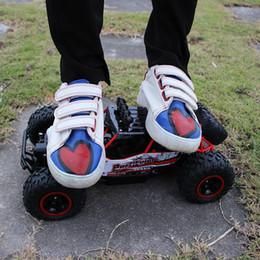 Unidad de radio online-1:12 O 1:16 Coches 4WD Tracción en eje RC Camiones Control de radio de alta velocidad Escobillas de aleación sin escobillas Escala Superpotencia Juguetes para niños para niños