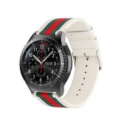 Difeini Samsung Gear S3 correa de reloj correa de repuesto 22 mm de nylon estilo deportes correa de reloj para Samsung Gear S3 blanco desde fabricantes