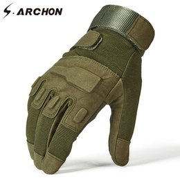Army Combat Tactical Men Full Finger Anti-slip Military SWAT Soldier Gloves ADF