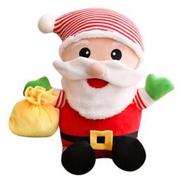 Детские игрушки онлайн-1 ШТ. Симпатичные Санта-Клаус Плюшевые Игрушки Мягкие Игрушки День Рождения Рождественские Подарки Дети для Детей Девушка Рождество