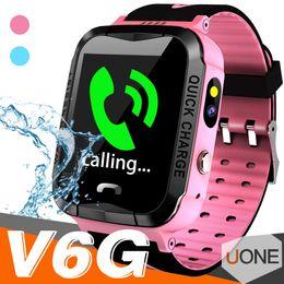 V6G Çocuklar Akıllı İzle Ip67 Su Geçirmez GPS Izci SOS Çağrı Kamera izleme alarm mobil konumlandırma Çocuk Çocuk için Akıllı saatler nereden