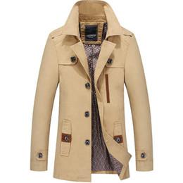 верхний новый дом Скидка YJSFG дом Марка мужские куртки хлопок отворотом пальто мода повседневная осень верхняя одежда куртка ветровка плюс Размер новые топы