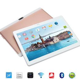 chamando comprimidos hdmi Desconto Frete grátis Android 7.0 Octa Núcleo de 10 polegada Tablet PC de 4 GB de RAM 32 GB ROM 5MP WI-FI A-GPS 4G LTE 2.5D Vidro temperado IPS 1280 * 800