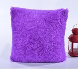 Al por mayor- 12 colores funda de almohada de felpa Cojín Hogar Funda de almohada Retro Simple Throw Supplies 43x43cm Caliente desde fabricantes