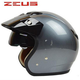 Wholesale Motorcycles Helmet Jet - Top Quality Jet Style Motorcycle Helmet Touring helmet DOT approved bike ZERUS made in Taiwan