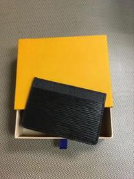 Freeship Damier toile détient haute qualité célèbre designer classique femmes titulaire porte-monnaie petit leer avec titulaires de la carte avec boîte-cadeau ? partir de fabricateur