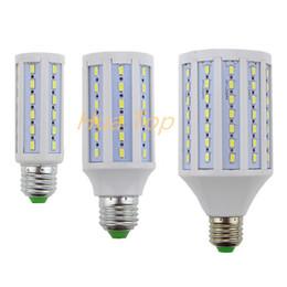 Wholesale 12v Led E27 Corn Bulbs - Lampada Led lamp E27 E14 B22 110~130V 220V 12W 15W 30W Epistar smd 5730 Solsr Corn Light Bulb Led Bulbs&Tubes Lumen 1200~3000LM
