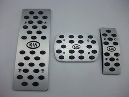 2019 pédales en aluminium vente pour kia k2 au MT pédales en aluminium Frein de carburant reste pédale voiture pédales rapide 3 / 4pcs air envoyer pédales en aluminium pas cher