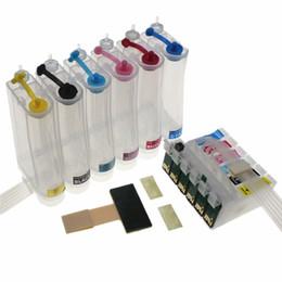 foto epson Rabatt T0481 -T0486 48 Kontinuierliches Tintenversorgungssystem CISS Für STYLUS PHOTO R200 R220 R300 R300 R320 R340 RX500 RX600 RX620 RX640