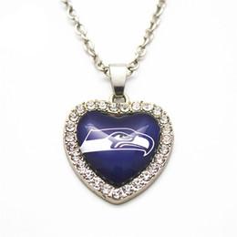 6 pçs / lote atacado cristal colar de pingente de jóias com 50 cm cadeia colar diy jóias de futebol esportes encantos de