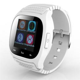 Caméra ip pour android en Ligne-M26 SmartWatch pas cher Montre intelligente Bluetooth avec montre de podomètre de lecteur de musique pour IP Android Smart Phone Montre de mode horloge intelligente
