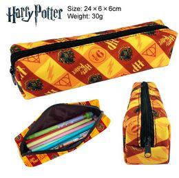 Canada 2 Styles Harry Potter de Bande Dessinée Double Zipper Crayon Sac Enfants École Crayon Boîte Cadeau D'anniversaire Enfants Porte-Monnaie Parti Favor CCA10269 50 pcs Offre