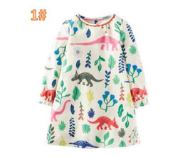 685f819ce7f baby girl dresses pocket style Coupons - Princess Dress with Pockets Animals  Printed Girl Tunic Jersey