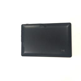 Bluetooth prozessor online-Quad-Core-Prozessor 7 '' WIFI 512M + 8GB Tablets Android kostenloser Versand 1024 x 600 schwarzer Tablet-PC 7 Zoll Dual-Kamera Bluetooth