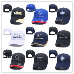 free racing cars Promo Codes - New Arrival Brand Designer 100% Cotton M Power Logo Adjustable Embroidery Snapback BMW Car Baseball Hat Unisex Racing Baseball Cap