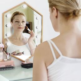 Kit luci specchio per trucco vanità LED stile hollywoodiano con 10 lampadine dimmerabili, Striscia per apparecchio di illuminazione per trucco Tavolo per trucco Vanity in Dressing Ro da