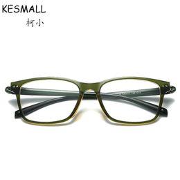 37d5c7f9c 2018 Moda Óptica Óculos de Armação Mulheres Homens Retro Miopia Limpar Lens  Óculos Quadrados Frames Super Leve Oculos De Grau YJ812 quadros de óculos  ...