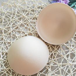 Wholesale Foam Bra Pads - HOT 1 Pair Practical Summer Breast Bra Bikini Inserts Chest Pad Women Swimsuit Padding Inserts Sponge Foam Bra Pads Chest Cups