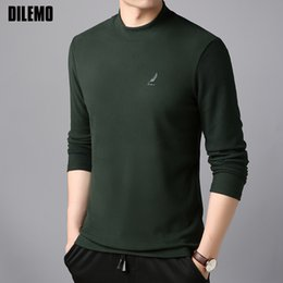 2020 koreanische hoodie slim fit 2018 Neue Mode Hoodies Männer Warm Slim Fit Korean Sweatshirt EmbroideryTrendy Oansatz Pullover Trainingsanzug Casual Herrenbekleidung günstig koreanische hoodie slim fit