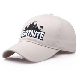 Novo FORTNITE Bordado Papai Cap Boné de Beisebol Fortress Jogo Fortnite Fan  Verão Hip Hop Chapéu Unisex Algodão Ajustável supplier fan hats fbea5cd01e4