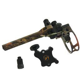Wholesale plastic cnc - 1 pk 5 pin Bow sights for compound bow,TP7550-camo ,Tool Less design CNC aluminum machined