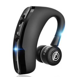 blackberry goophone Sconti Cuffie Bluetooth Qualità V9 Wireless CSR 4.1 Affari Auricolari stereo senza fili Auricolari Cuffie con microfono Pacchetto di controllo vocale USZ174