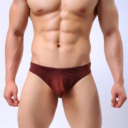 Seksi erkek Iç Çamaşırı Külot U Dışbükey Büyük Penis Çanta Tasarım Wonderjock erkek Buz Ipek Külot Bikini Sıcak Satış nereden