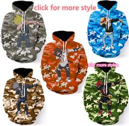 Wholesale Dragon Ball Z Clothes - New Fashion Couples Men Women Unisex Clothes Dragon ball Z 3D Print Hoodies Sweater Sweatshirt Jackets Pullover Top TT218