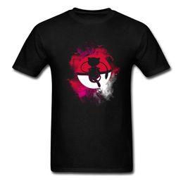 camiseta al por mayor bolsillo Rebajas Pocket Monster T Shirt Men Wholesale Discount Tops Camiseta de dibujos animados Mystery Spirit Camiseta Imprimir Mans Ropa Tela de algodón Verano / Otoño