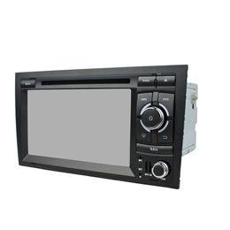 2019 land kreuzer gps bildschirm Auto-DVD-Player für Audi A4 7Inch Andriod 6.0 mit GPS, Lenkradfernbedienung, Bluetooth, Radio, 2 GB RAM