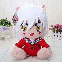 Wholesale Inuyasha Anime - 12 inch Japanese Anime Cartoon Inuyasha Plush Toy Plush Doll Toy