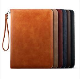 Étui en cuir pour iphone en Ligne-Housse en cuir PU pour iPad Mini 2 3 4 Housse pour iPad 9,7 pouces