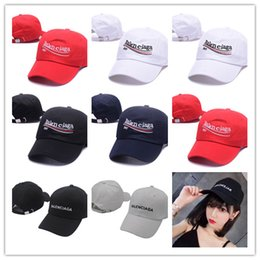 strapback fitted caps Promo Codes - Good Quality wholesale kanye west Vetements BNIB Ladies Mens Unisex Red Baseball strapback black lives matter chance the rapper dad hat