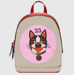 Wholesale soft dog backpacks - New 2018 Backpack Women Leather Fashion Dog Bags Brand Designer Back Pack g Bag Backpacks Ladies Green Pink Black Brown for Sale