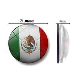 2019 mondo degli adesivi divertenti Hot World Cup 2018 Magneti per frigoriferi Squadre nazionali Bandiere Magnete per frigorifero Adesivi per la casa Decorazione della casa Accessori per la cucina mondo degli adesivi divertenti economici