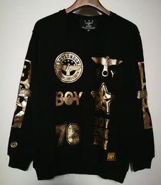 2019 abbigliamento da ragazzo di aquila New Men boy london sciolto Long  SLeeve Punk eagle stampato bbfb48cb12b