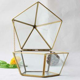 vasi bianchi blu nozze Sconti 15 * 17 cm terrarium di vetro in miniatura geometrica diamante desktop fioriera piante succulente casa di vetro giardinaggio indoor decorazioni per la casa WX9-675