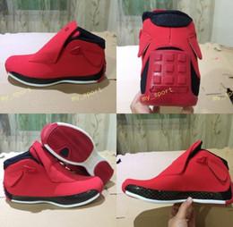 calçados tamanho 18 homens Desconto New 18 XVIII Toro Ginásio vermelho preto homens tênis de basquete sports 18 s tênis formadores ao ar livre de alta qualidade tamanho 8-13