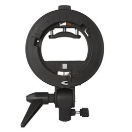 Suporte do reflector on-line-Neewer S-Type suporte de suporte com Bowens Mount para Speedlite Flash Snoot Softbox beleza prato reflector guarda-chuva