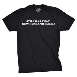 Hochzeitstag geschenke mann online-Details zu Herren New Husband Smell Funny Marriage Hochzeit T-Shirt Hochzeit Casual Funny kostenloser Versand Unisex T-Shirt Geschenk