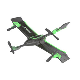 Крыло онлайн-X99A RC Drone 2.4G 4CH Wing Rocket Quadcopter with Altitude Hold One Key Take off/Land Mini Airplane Gift Toy RTF