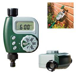 riego con temporizador de agua Rebajas Garden Watering Automatic Electronic Timer Manguera Faucet Timer Irrigation Set Sistema de controlador Auto Play Irrigation OOA5342
