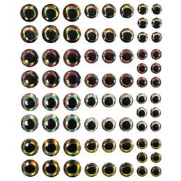 Cuerpos de señuelo en blanco online-Ojos de pez para Crankbaits sin pintar Cuerpos de señuelos Minnow Hard Baits Special 4D Fishing Lure Tackle Craft