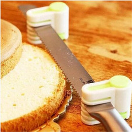 cake layer cutter Coupons - Green 2019 Free shipping 5 Layers Kitchen DIY Cake Bread Cutter Leveler Slicer Cutting Fixator Tools