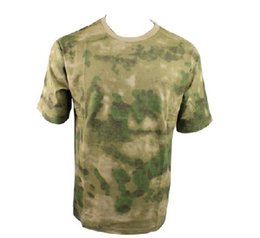 2020 swat shirts T-shirt A-TACS FG Camo FOLIAGE GREEN T-shirt US Marine Paintball USMC Paintball SWAT promotion swat shirts